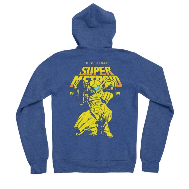 Super Metroid Women's Sponge Fleece Zip-Up Hoody by tulleceria