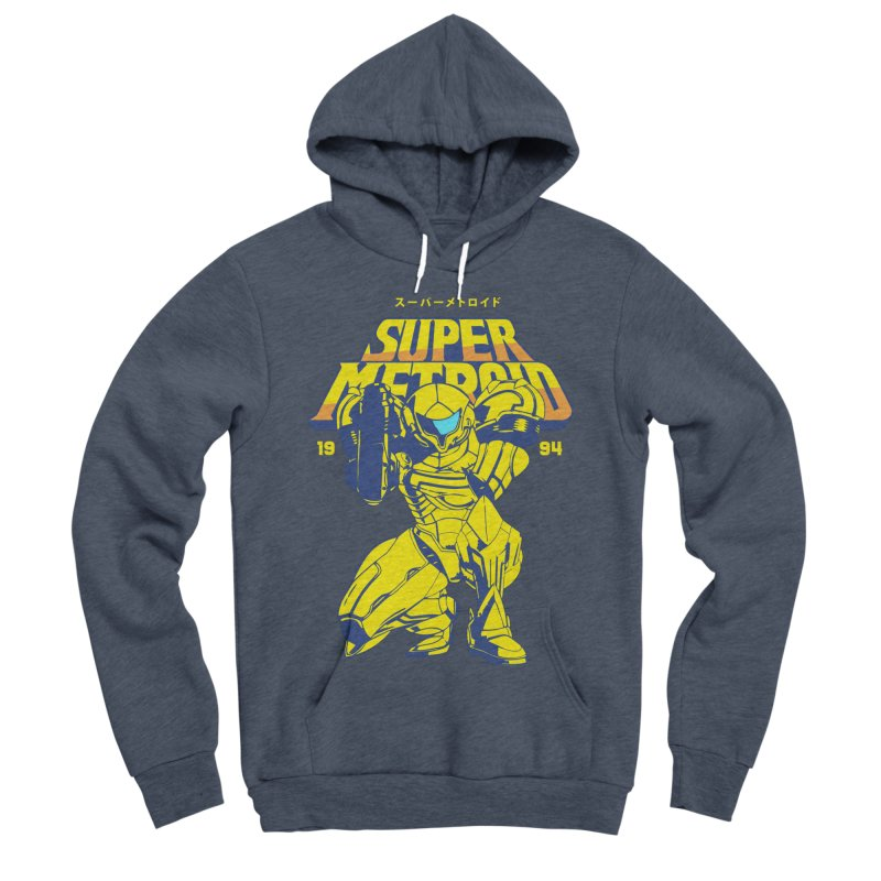 Super Metroid Women's Sponge Fleece Pullover Hoody by tulleceria