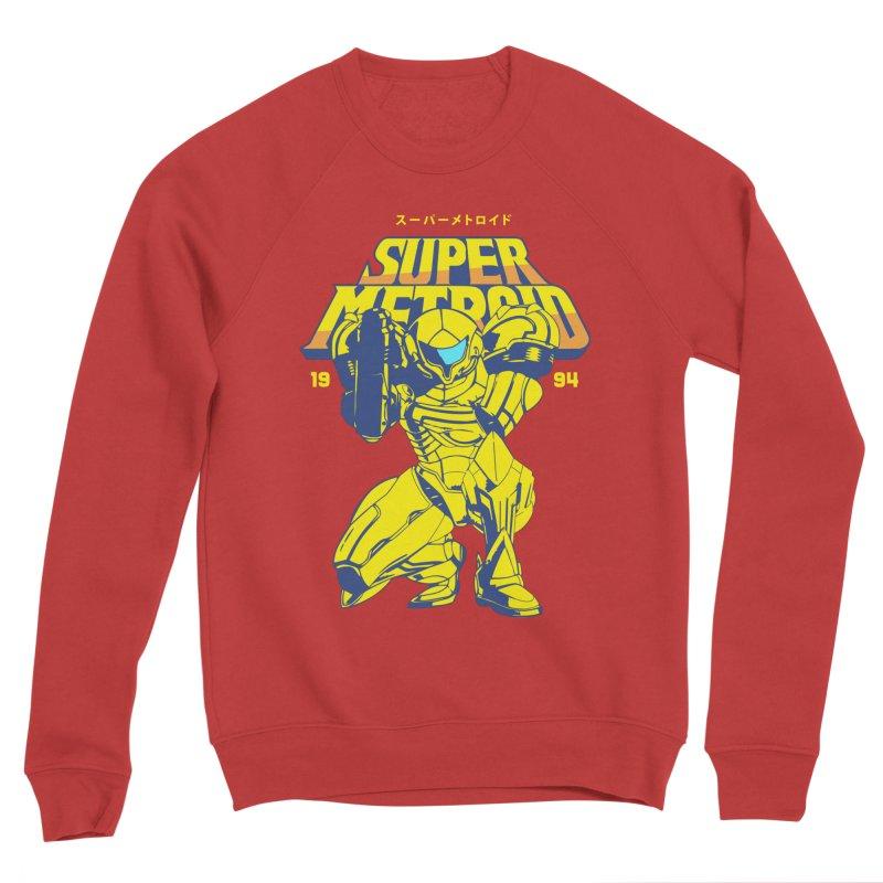 Super Metroid Men's Sponge Fleece Sweatshirt by tulleceria