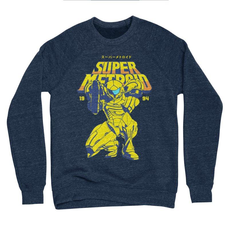 Super Metroid Women's Sponge Fleece Sweatshirt by tulleceria