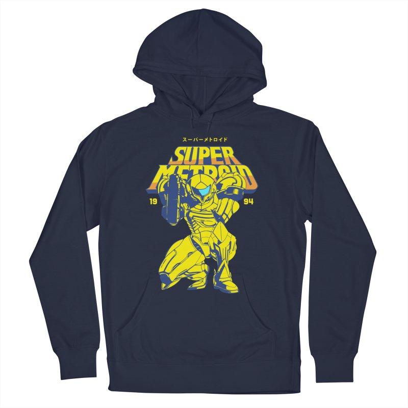 Super Metroid Men's Pullover Hoody by tulleceria