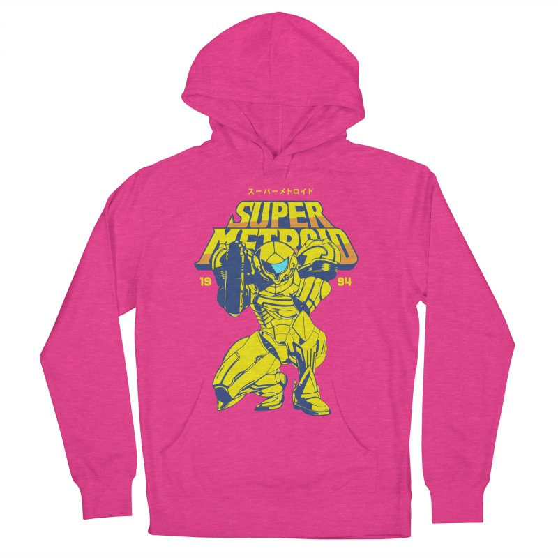 Super Metroid Women's French Terry Pullover Hoody by tulleceria