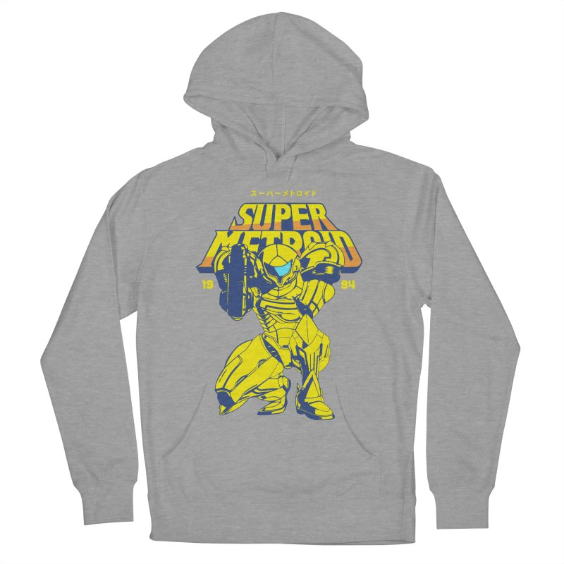 Super Metroid Men's French Terry Pullover Hoody by tulleceria