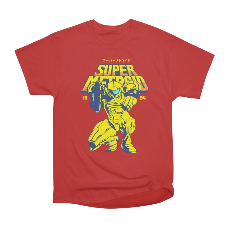 Super Metroid Women's Heavyweight Unisex T-Shirt by tulleceria