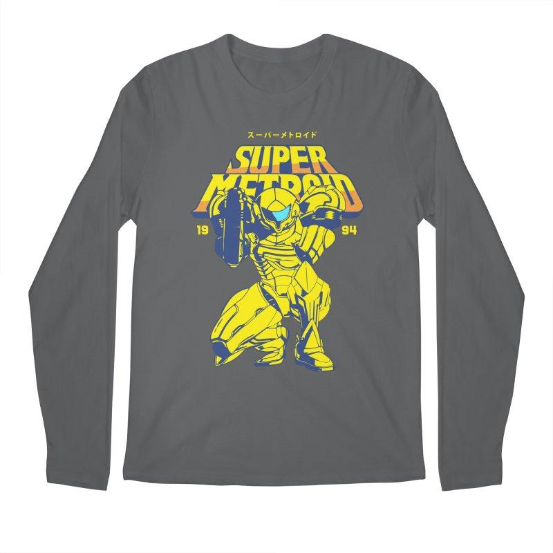 Super Metroid Men's Longsleeve T-Shirt by tulleceria