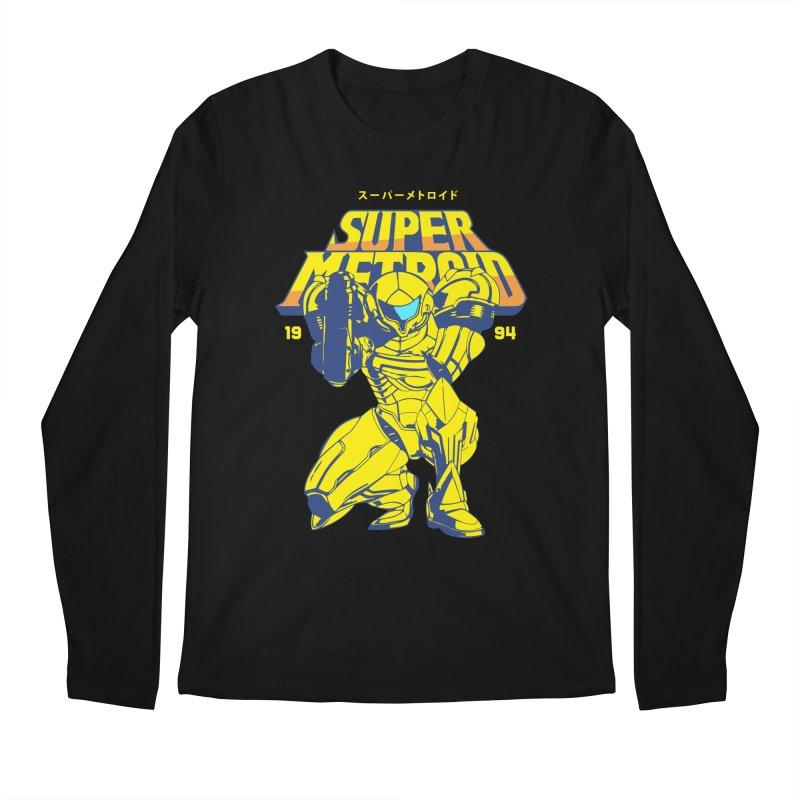 Super Metroid Men's Regular Longsleeve T-Shirt by tulleceria