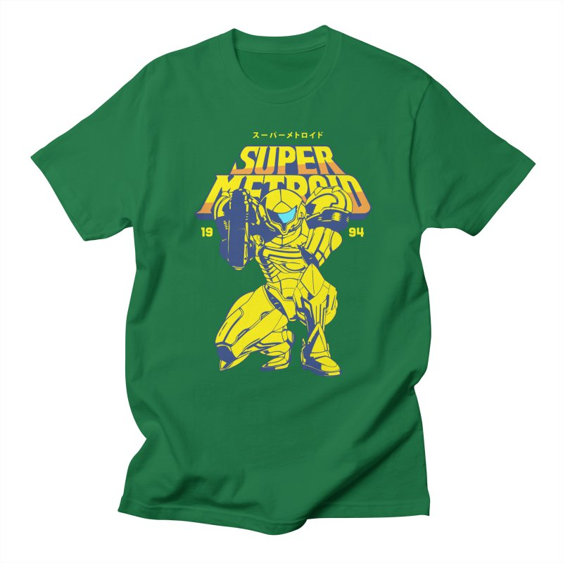 Super Metroid Women's Regular Unisex T-Shirt by tulleceria
