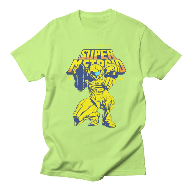 Super Metroid Men's Regular T-Shirt by tulleceria