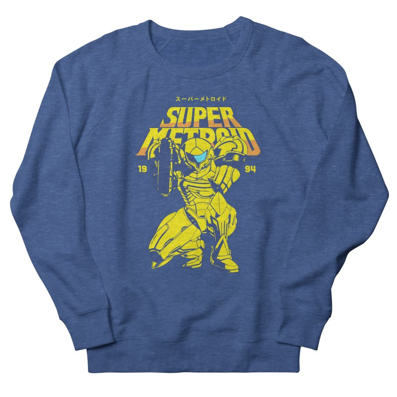 Super Metroid Men's French Terry Sweatshirt by tulleceria