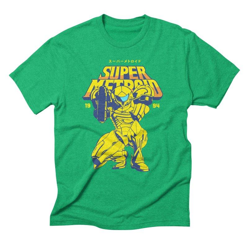 Super Metroid Men's Triblend T-Shirt by tulleceria