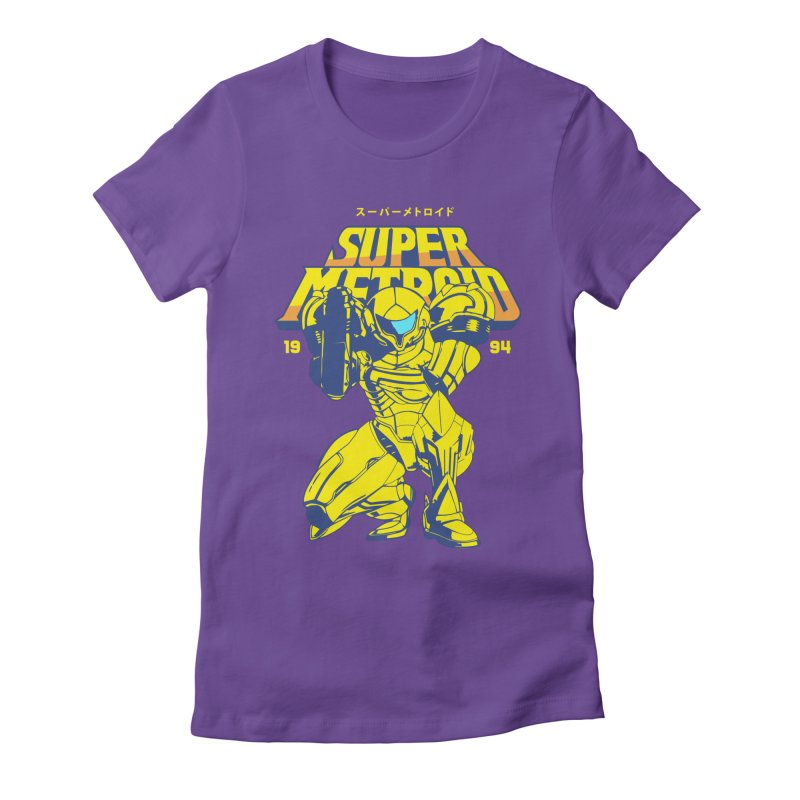 Super Metroid Women's Fitted T-Shirt by tulleceria