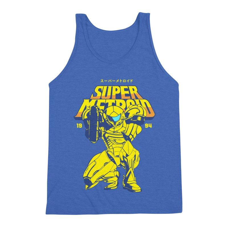 Super Metroid Men's Triblend Tank by tulleceria
