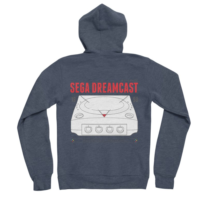 Sega Dreamcast Women's Sponge Fleece Zip-Up Hoody by tulleceria