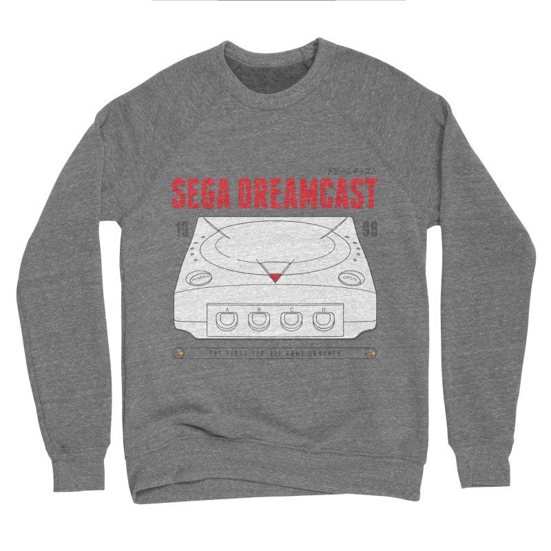 Sega Dreamcast Men's Sponge Fleece Sweatshirt by tulleceria