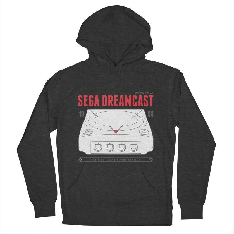 Sega Dreamcast Women's French Terry Pullover Hoody by tulleceria