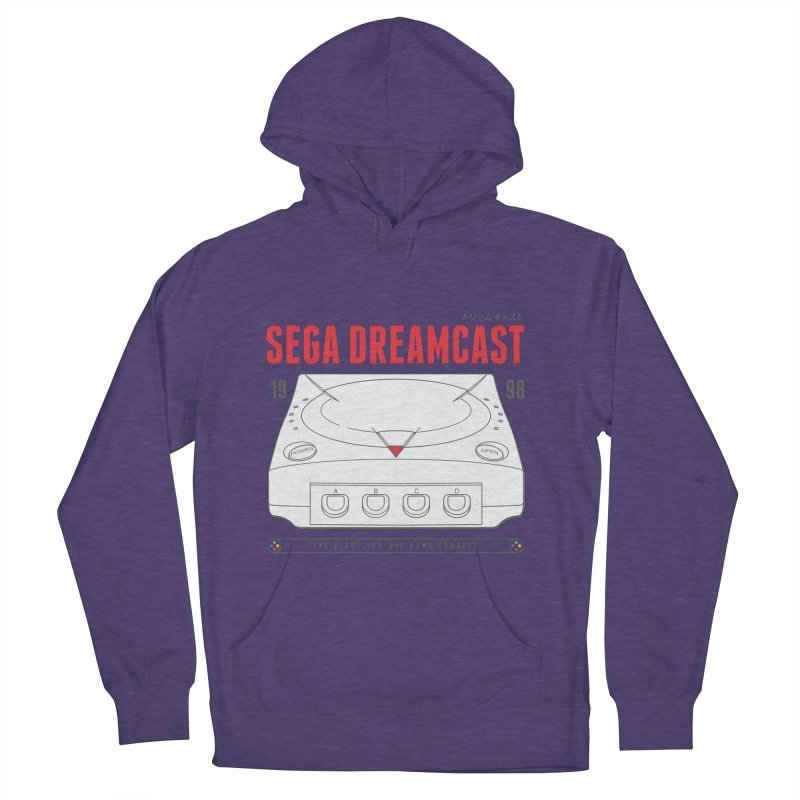 Sega Dreamcast Men's French Terry Pullover Hoody by tulleceria