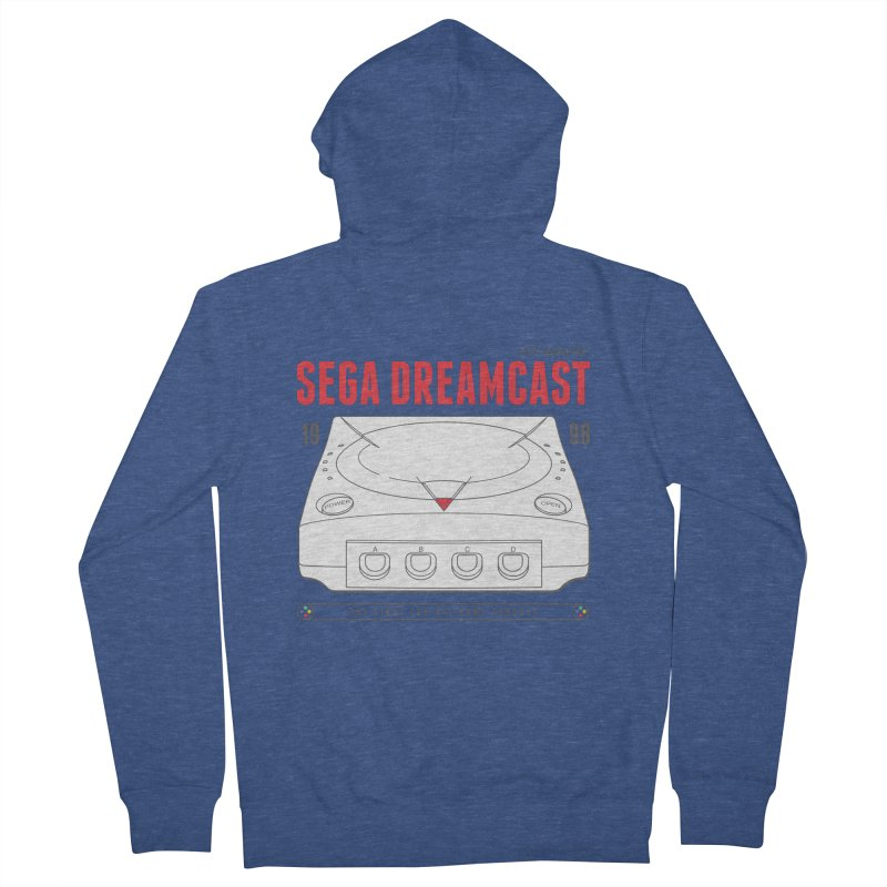 Sega Dreamcast Women's French Terry Zip-Up Hoody by tulleceria