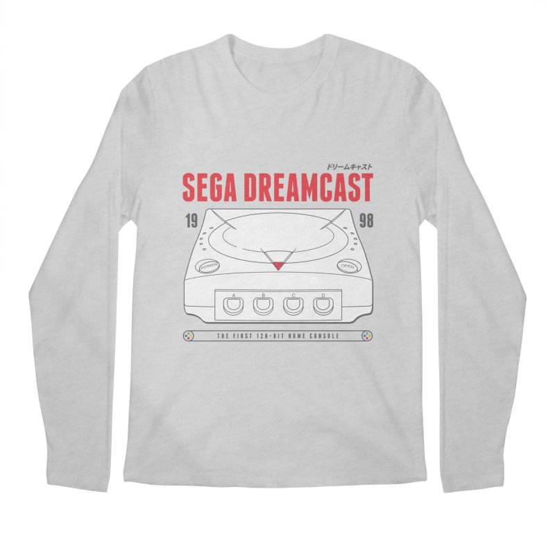 Sega Dreamcast Men's Longsleeve T-Shirt by tulleceria