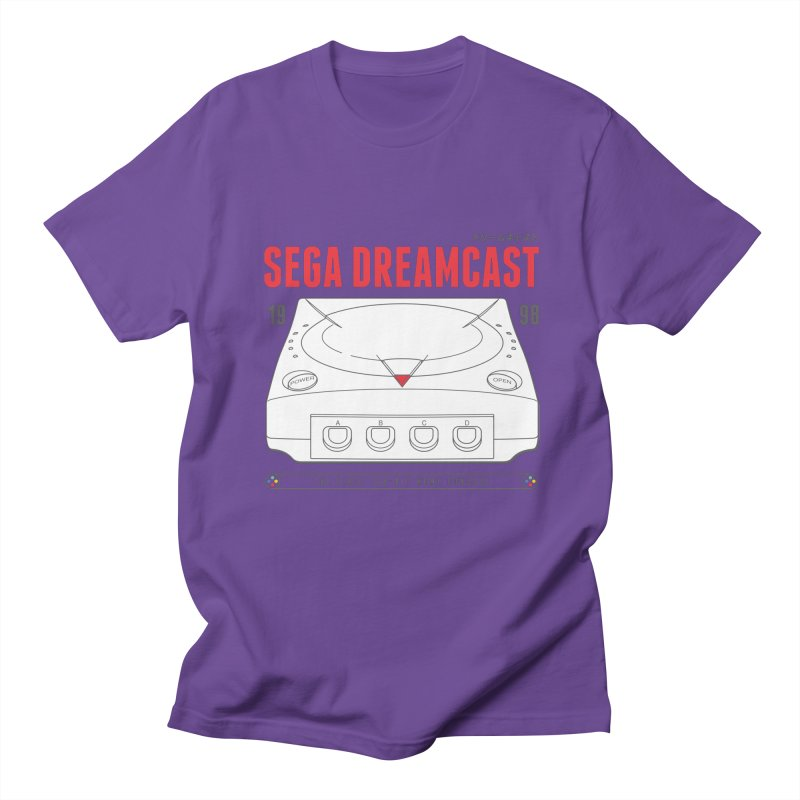Sega Dreamcast Men's Regular T-Shirt by tulleceria