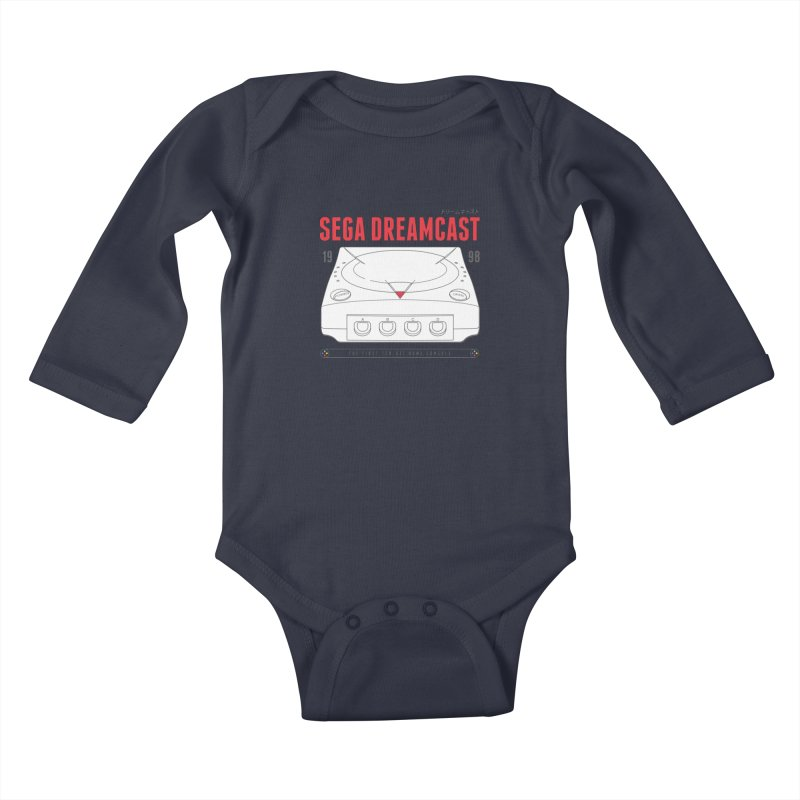 Sega Dreamcast Kids Baby Longsleeve Bodysuit by tulleceria