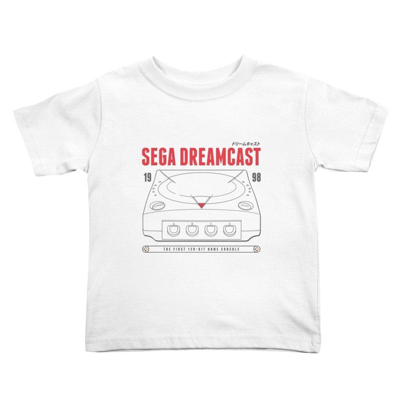Sega Dreamcast Kids Toddler T-Shirt by tulleceria