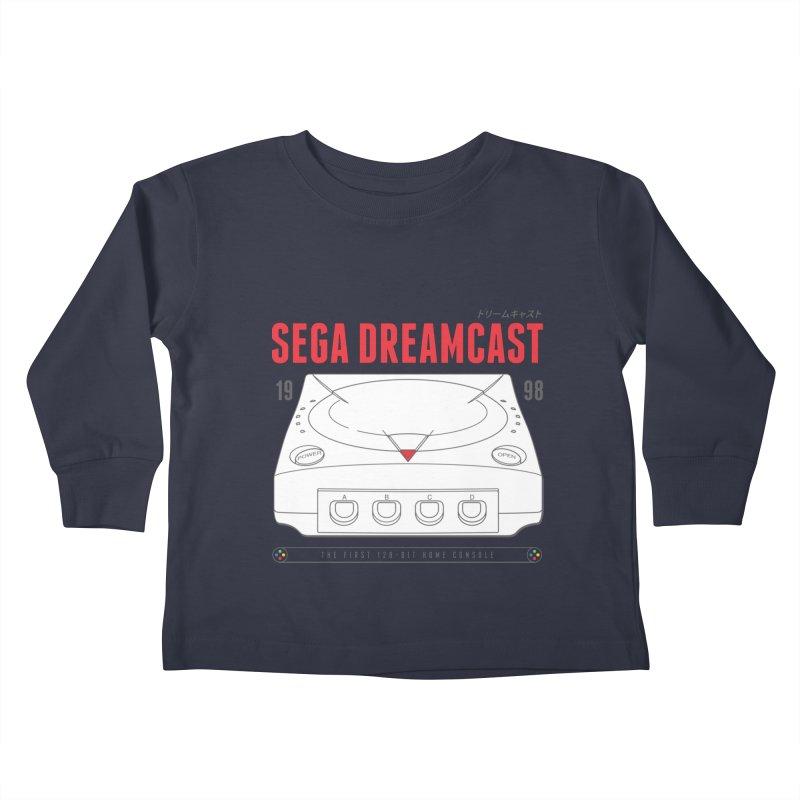 Sega Dreamcast Kids Toddler Longsleeve T-Shirt by tulleceria