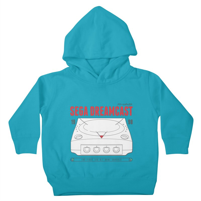 Sega Dreamcast Kids Toddler Pullover Hoody by tulleceria