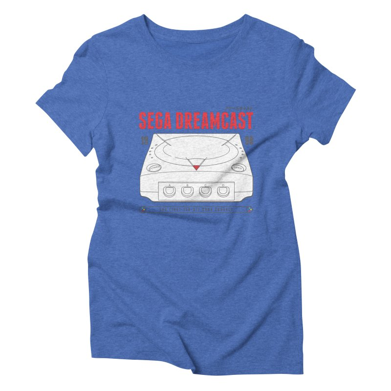 Sega Dreamcast Women's Triblend T-Shirt by tulleceria