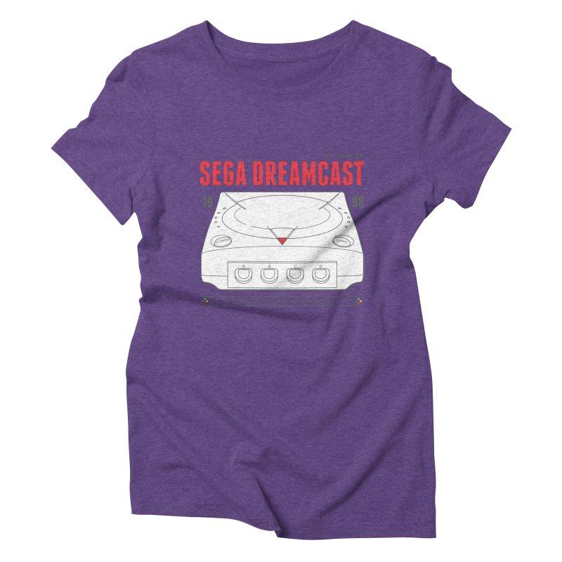 Sega Dreamcast Women's Triblend T-Shirt by tulleceria