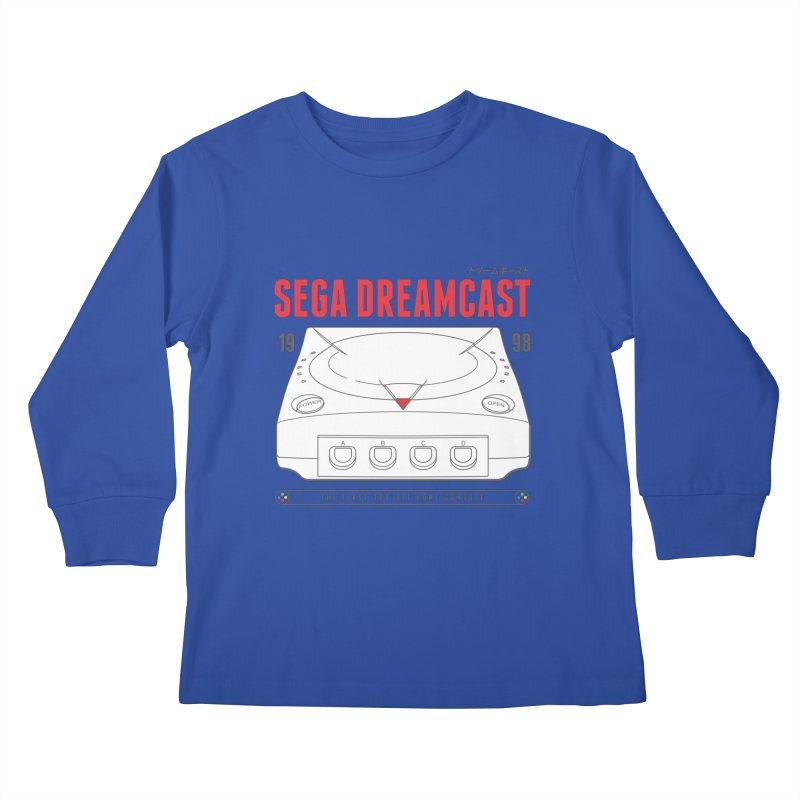 Sega Dreamcast Kids Longsleeve T-Shirt by tulleceria