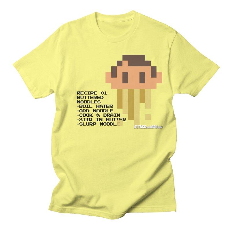 Buttered Noodles Men's T-Shirt by turbo's Artist Shop