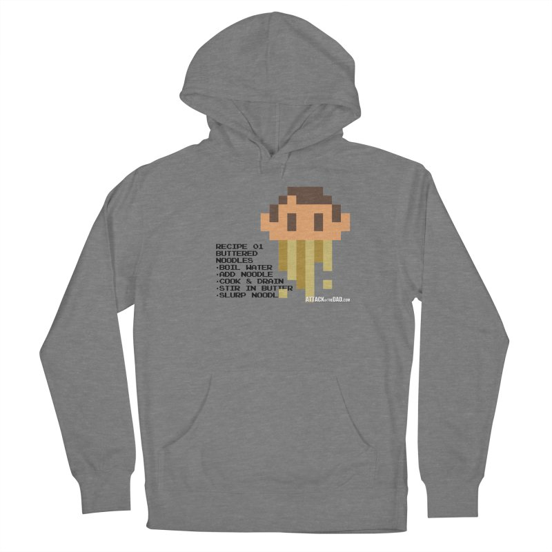 Buttered Noodles Women's Pullover Hoody by turbo's Artist Shop