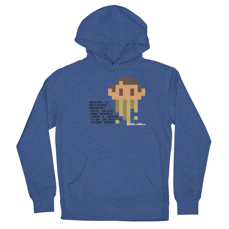 Buttered Noodles Men's Pullover Hoody by turbo's Artist Shop