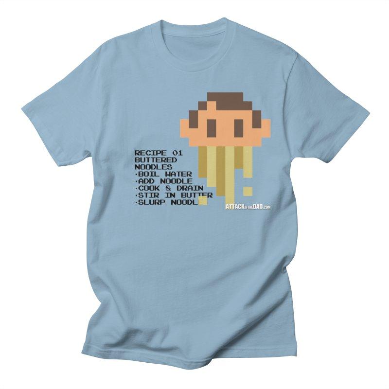 Buttered Noodles Men's Regular T-Shirt by turbo's Artist Shop