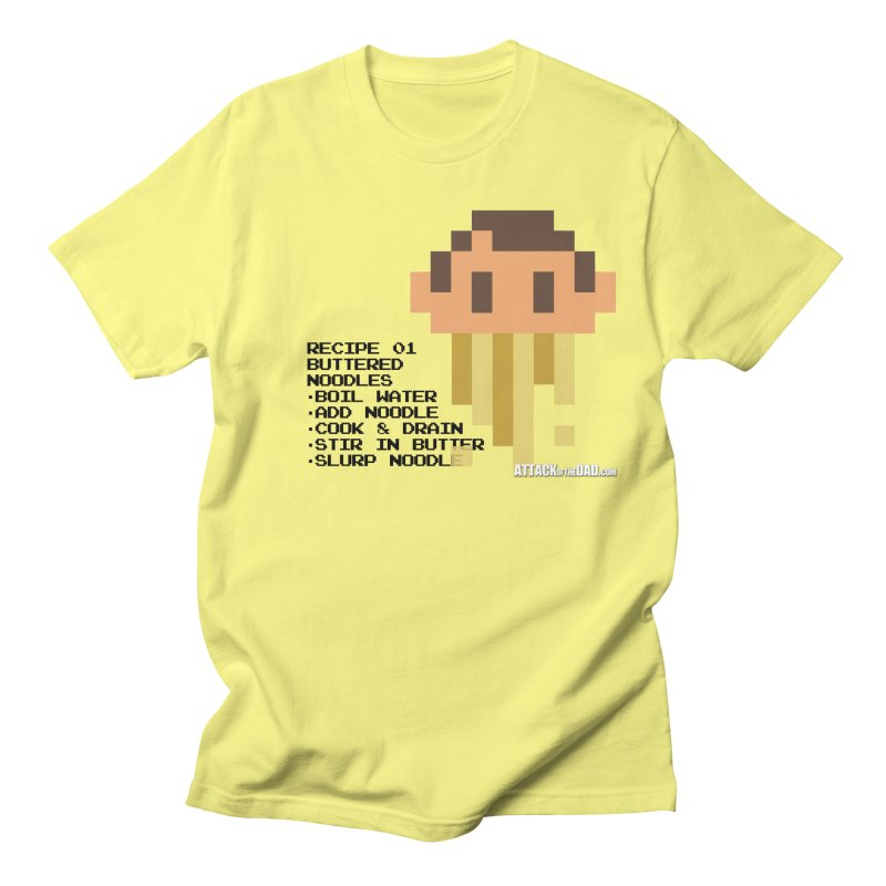 Buttered Noodles Men's Regular T-Shirt by turbo's Artist Shop