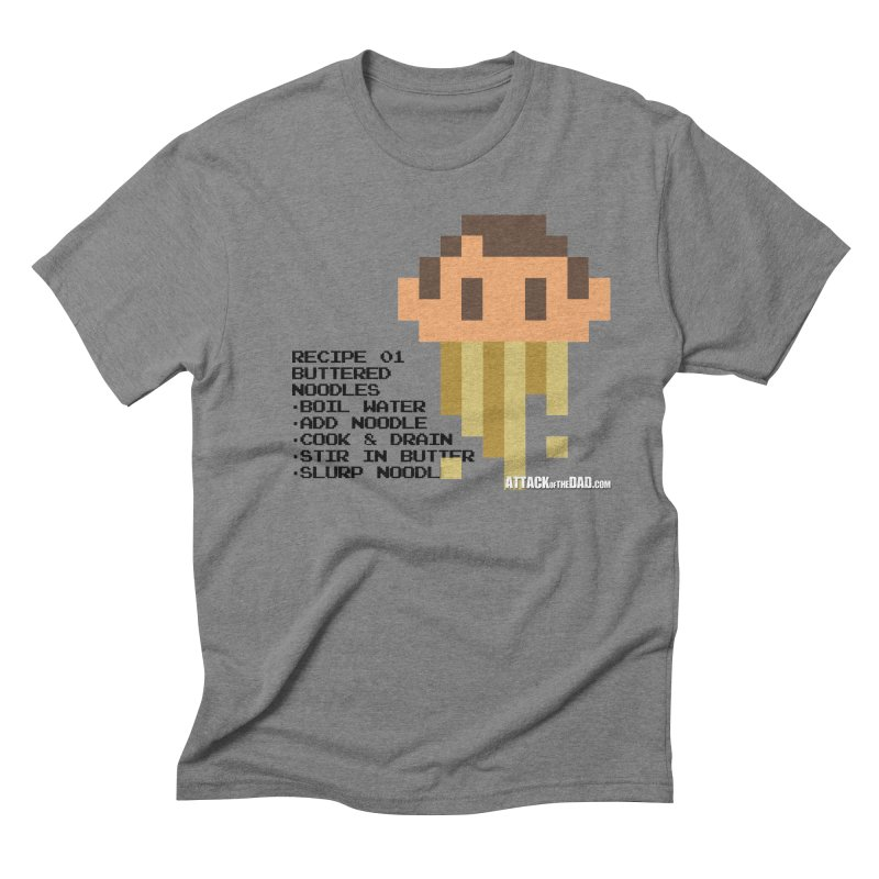 Buttered Noodles Men's Triblend T-Shirt by turbo's Artist Shop
