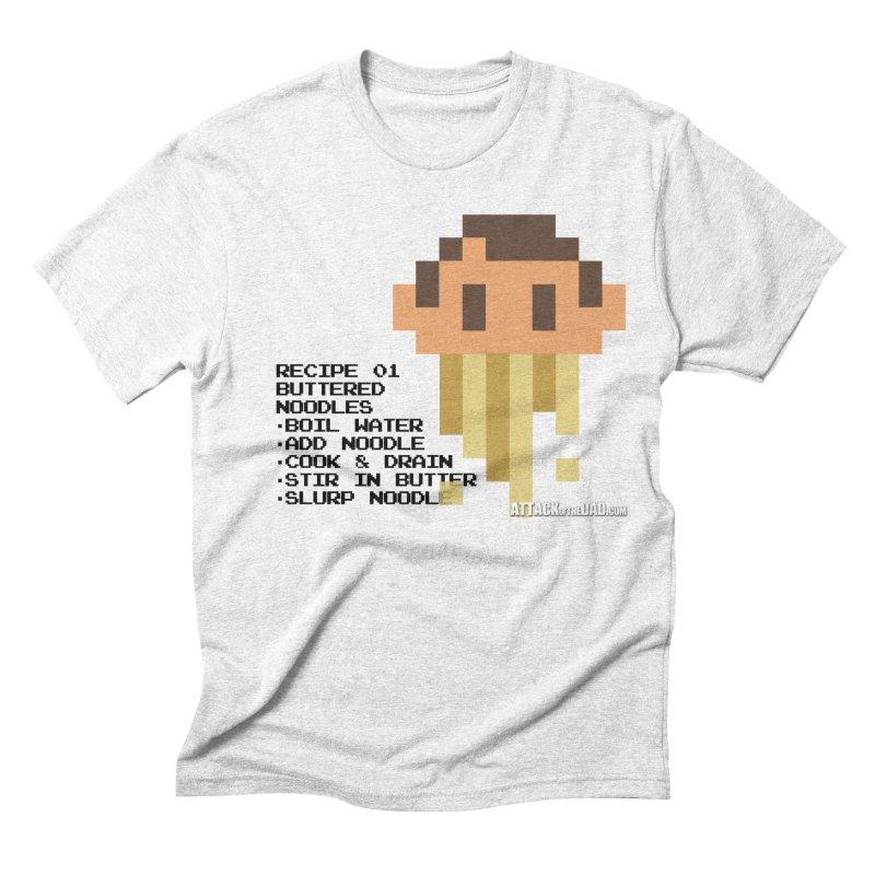 Buttered Noodles Men's Triblend T-shirt by turbo's Artist Shop