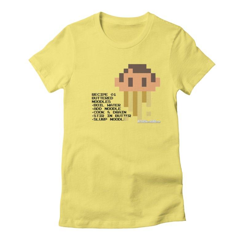 Buttered Noodles Women's T-Shirt by turbo's Artist Shop