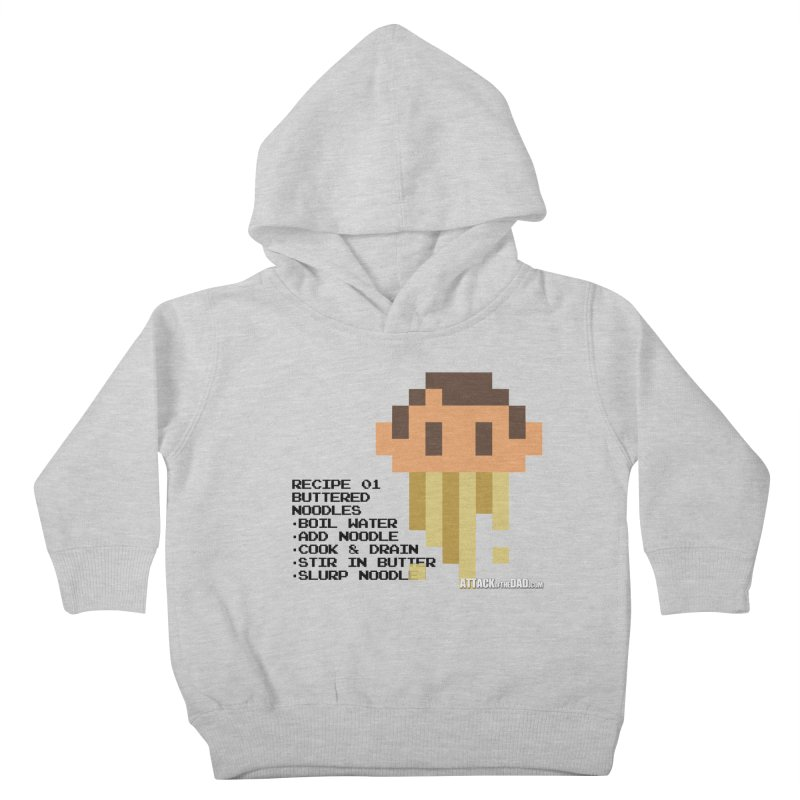 Buttered Noodles Kids Toddler Pullover Hoody by turbo's Artist Shop