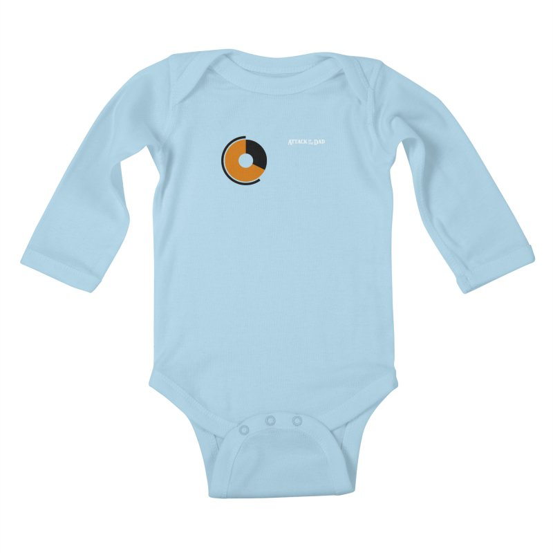 Tunic of No Stamina - Attack of the Dad Kids Baby Longsleeve Bodysuit by turbo's Artist Shop