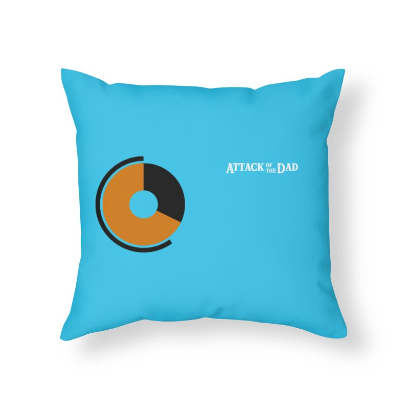 Tunic of No Stamina - Attack of the Dad Home Throw Pillow by turbo's Artist Shop
