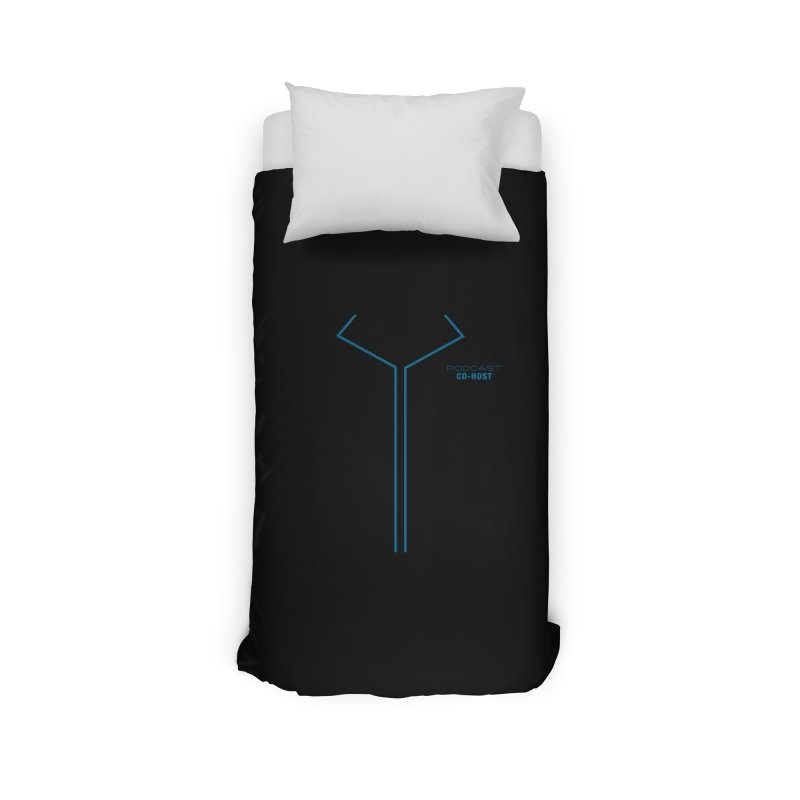 Podcast Co-Host Sleeveless Top (with sleeves) Home Duvet by turbo's Artist Shop