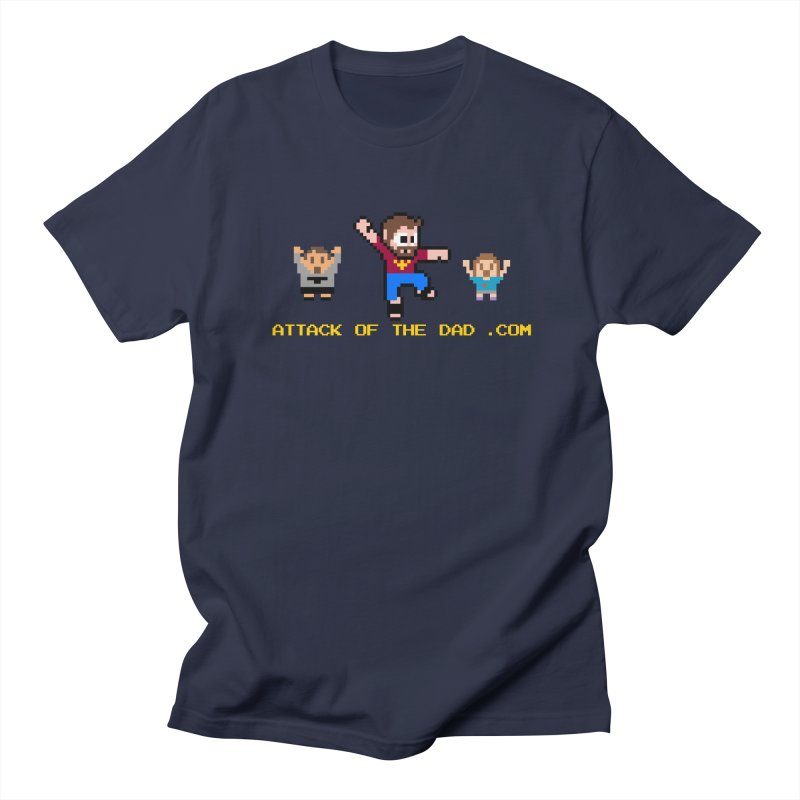 Attack of the Dad Men's Regular T-Shirt by turbo's Artist Shop