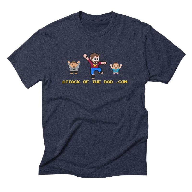 Attack of the Dad Men's Triblend T-Shirt by turbo's Artist Shop