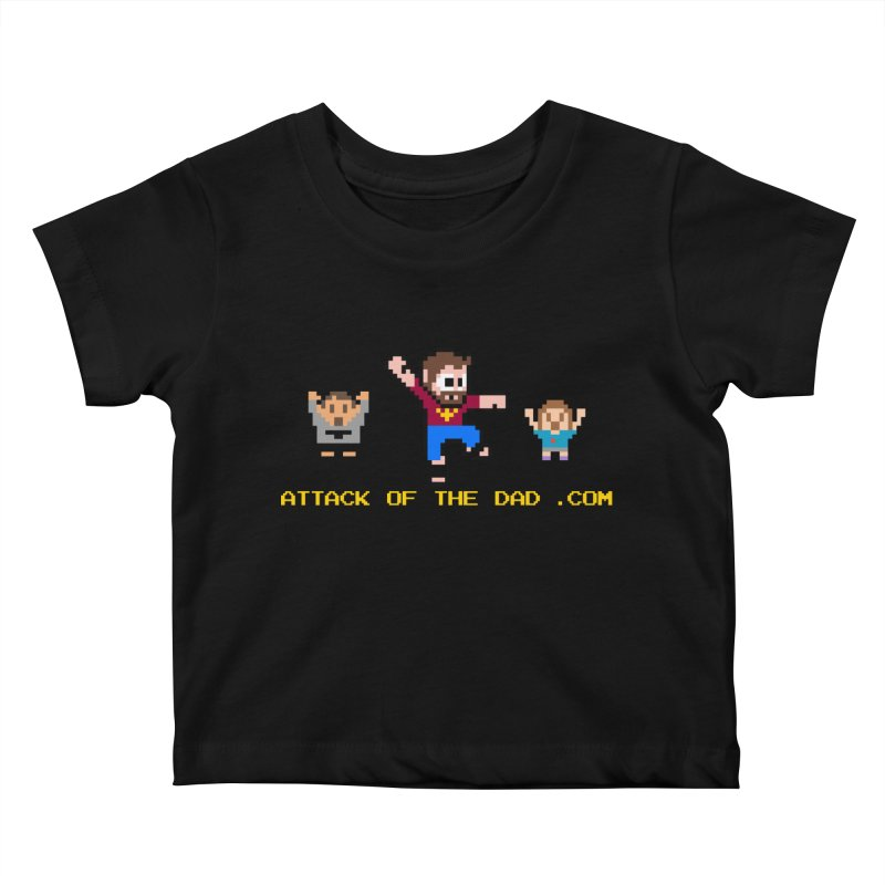 Attack of the Dad Kids Baby T-Shirt by turbo's Artist Shop