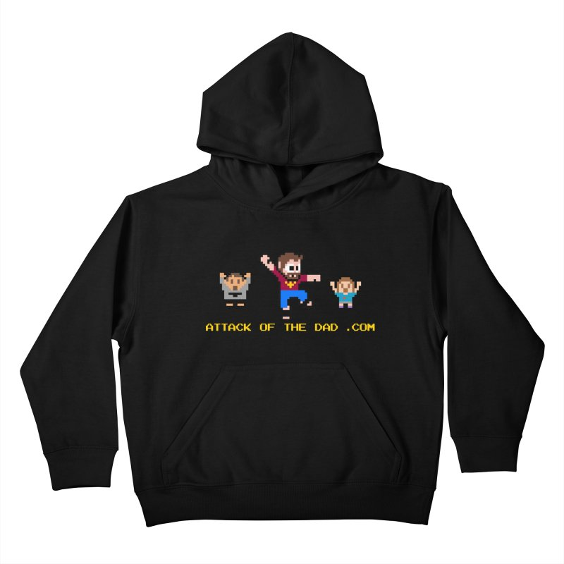Attack of the Dad Kids Pullover Hoody by turbo's Artist Shop