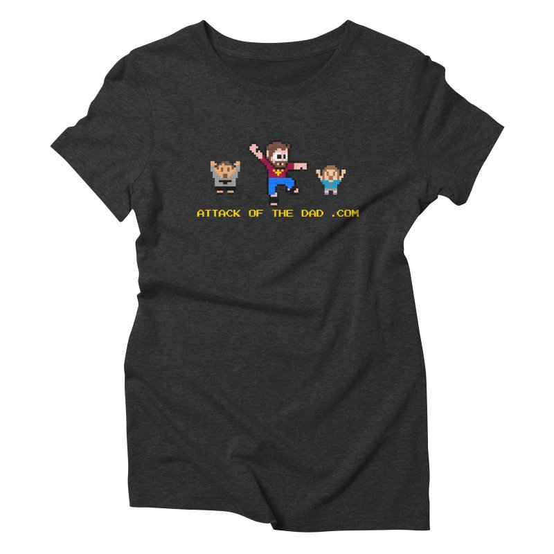 Attack of the Dad Women's Triblend T-Shirt by turbo's Artist Shop