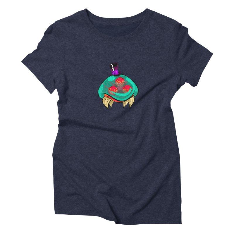 Gentleman Metroid Women's Triblend T-Shirt by turbotoaster's Shop