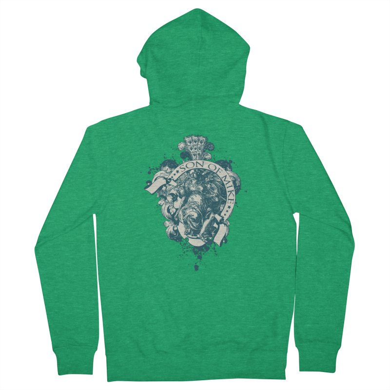 """Son of Mike """"Angel"""" Men's French Terry Zip-Up Hoody by Turkeylegsray's Artist Shop"""