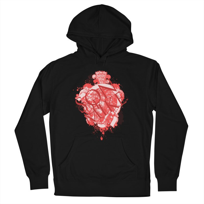 """Son of Mike """"Red Angel"""" Men's French Terry Pullover Hoody by Turkeylegsray's Artist Shop"""